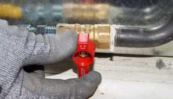 Как правильно установить газовый баллон на даче